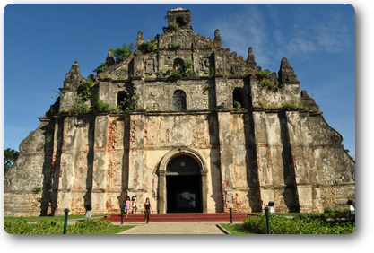 St. Augustin Church at Paoay,Copy right holder:Ms Beverly Ann